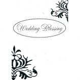 Wedding Blessing - Silver Words