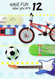 Boy Age 12 - Cycle