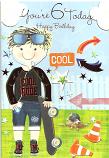 Boy Age 6 Skate board