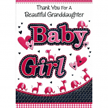 Thank You For A Granddaughter - Baby Girl