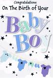 Baby Boy - Pattern Wording