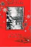 Grandad Christmas - Snow Scene