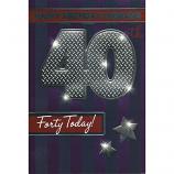 Husband 40th Birthday - Stars