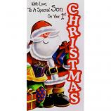 Son's 1st Xmas - Santa/Gifts