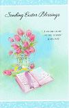 Easter - Tulips/Bible