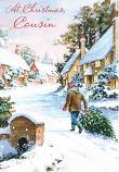 Cousin Christmas - Man Walking