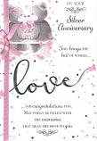 Silver Anniversary - Pink Ribbon