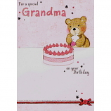 Grandma Birthday - Bear/Cake