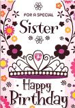 Sister Birthday Pink Sister
