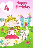 Girl Age 4 - Girl/Parcel