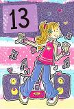 Girl Age 13 - Girl Dancing