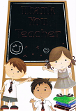 Thank You Teacher - Blackboard