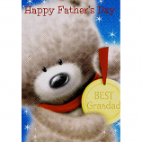 Father's Day Grandad - Bear/Medal