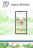 70th Birthday - Male Golf