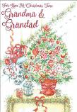 Grandma & Grandad Christmas - Tree