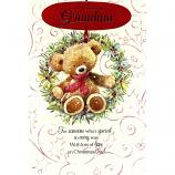 Grandma Xmas - Bear/Wreath