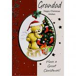 Grandad Xmas - Bear/Stool