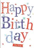 Male Birthday Pattern Happy Birthday