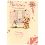 Mother's Day Nanna - Bear/Window