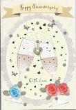 Open Anniversary - Silver Butterflies