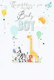 Baby Boy - Zebra