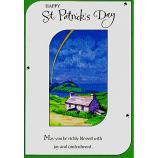 St Patrick's Day - Cottage/Rainbow