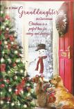 Granddaughter Christmas Snowman