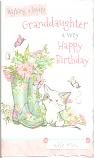 Granddaughter Birthday Wellies/Cat