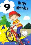 Boy Age 9 - Bike