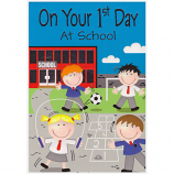 First Day At School - Playground