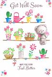 Get Well - Flower Pots