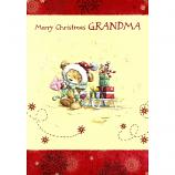 Grandma Xmas - Bear/Sledge