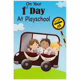 1st Day At Playschool - Bus