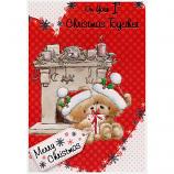 1st Christmas Together - Bears/Fireplace