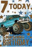 Boy Age 7 - Blue Truck