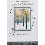 Grandad Xmas - Glitter Lanterns