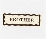 Personalised Label - Brother