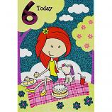 Girl Age 6 - Girl/Blanket