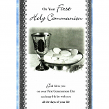 First Communion - M Chalice
