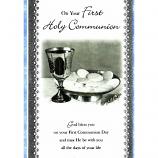 First Communion - M Chalice