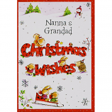 Nanna & Grandad Xmas - Christmas Wishes