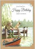Male Birthday Fisherman Dog