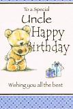 Uncle Birthday - Brown Bear