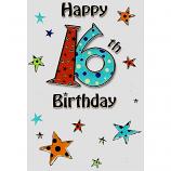 Boy Age 16 - Lge 16th Birthday