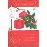 Mum & Dad Xmas - Lge Gift/Bauble
