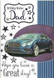 Dad Birthday Green Car
