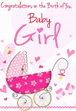 Baby Girl - Pram