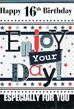 Boy Age 16 - Enjoy Your Day