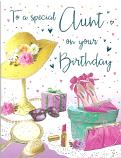 Aunt Birthday Hat on Stand