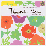 Thank You Pack - Flowers